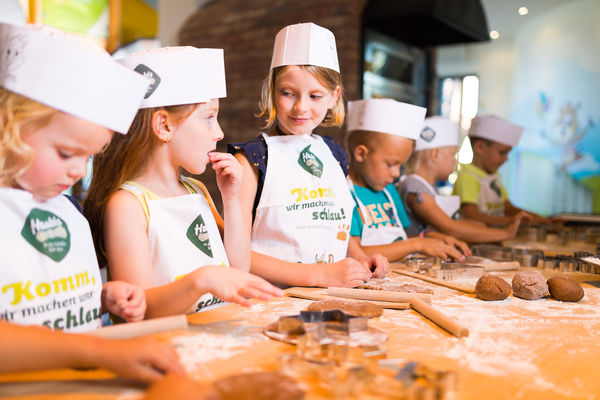 trip with children is very exciting, funny and enjoyable at children's bakery.